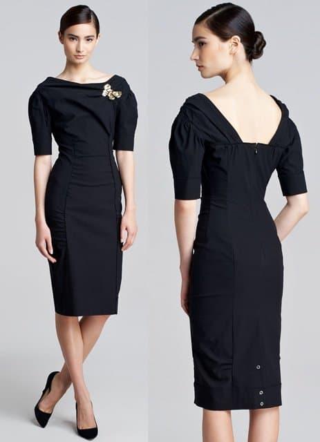 Nina Ricci Faille Dress