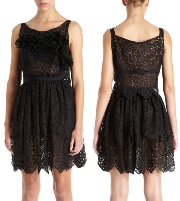 Nina Ricci Front Tier Dress