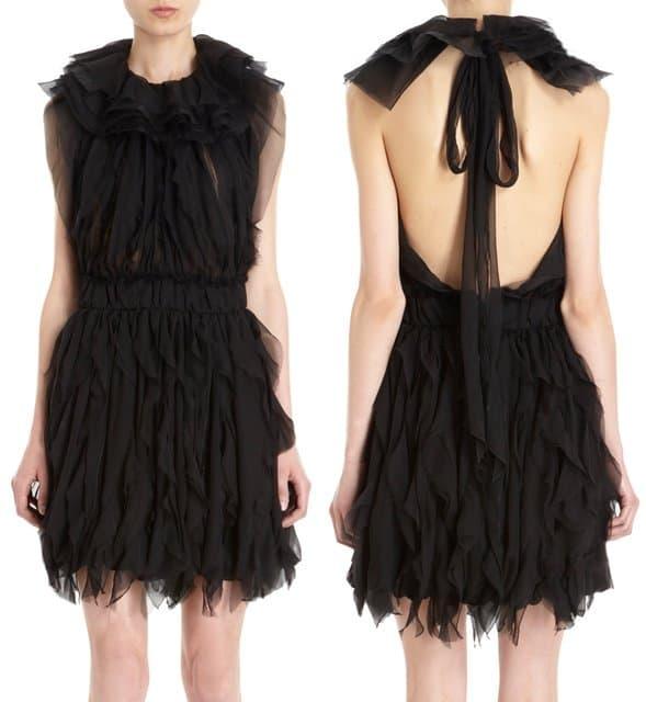 Nina Ricci Ruffle Dress
