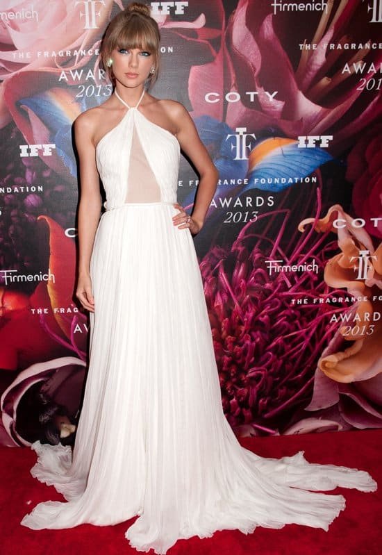 Taylor Swift at the 2013 Fragrance Foundation's FiFi Awards in New York City on June 12, 2013