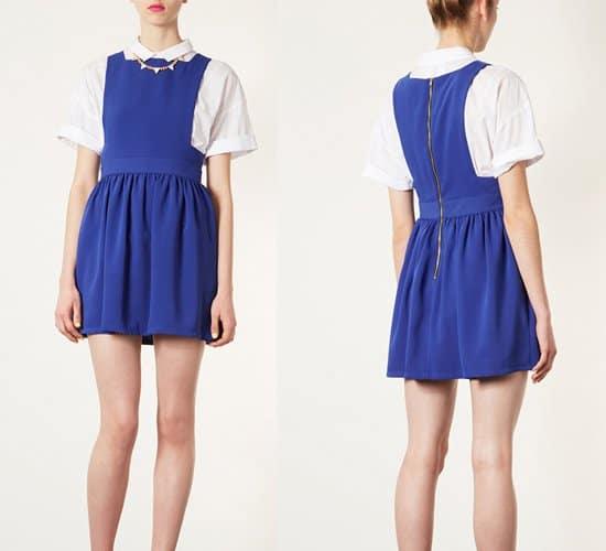Topshop Wonder Pinafore Dress