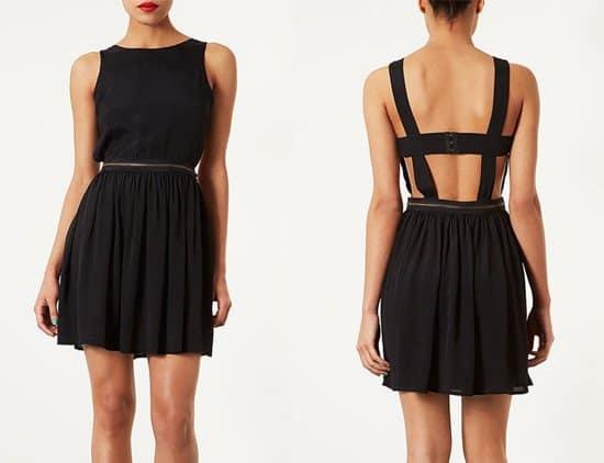 Topshop Zipper Pinafore Dress