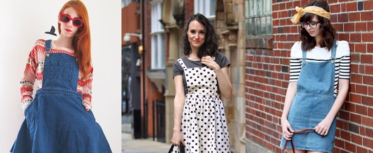 How to Wear a Pinafore Dress: 5 Chic Outfits