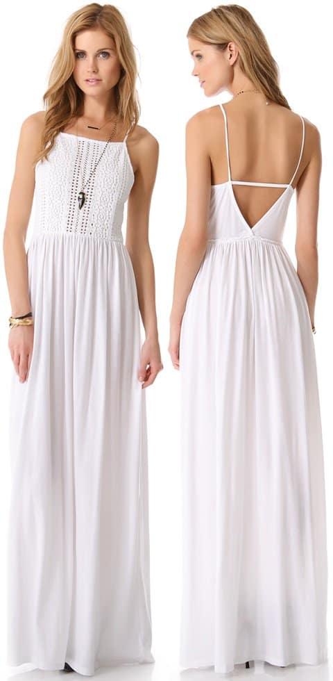Nightcap Clothing Apron Beach Maxi