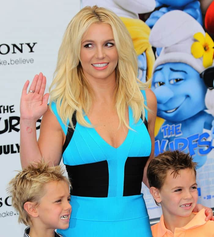 The Los Angeles premiere of 'Smurfs 2' - Arrivals