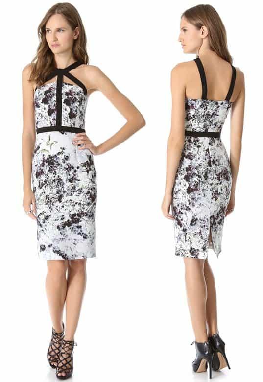 Cushnie et Ochs Print Dress-horz