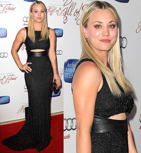 Kaley Cuoco the Academy of Television Arts & Sciences' 22nd Annual Hall of Fame Induction Gala