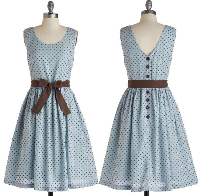 Kniited Dove Double or Muffin Dress