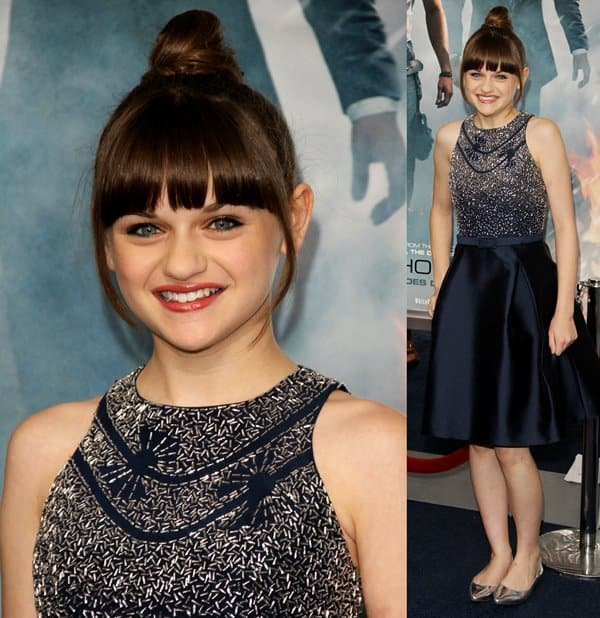 Joey King at the premiere of 'White House Down' at Ziegfeld Theatre in New York on June 25, 2013