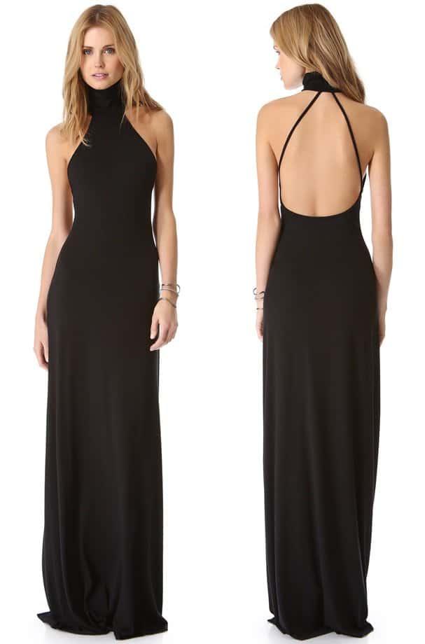 Catherine Zeta Jones In Thigh High Slit Dress By Michael Kors
