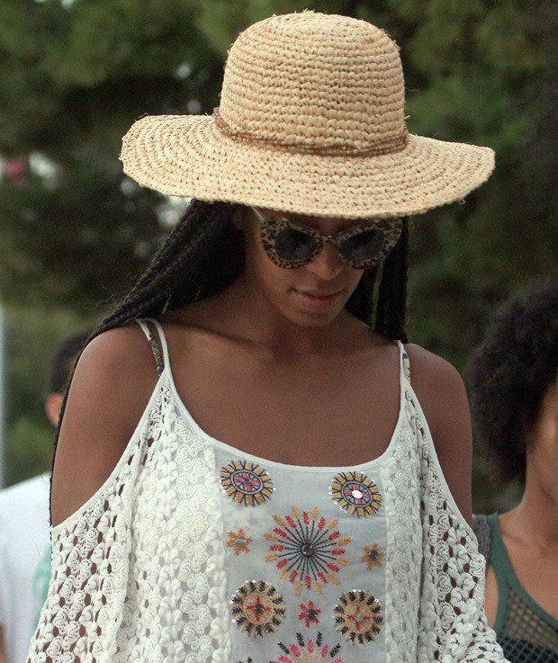 Solange Knowles arriving ahead of her FOR Festival 2013 performance in Hvar, Croatia, on June 21, 2013