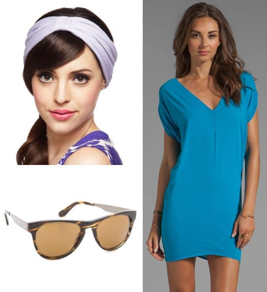 Eva Mendes summer look