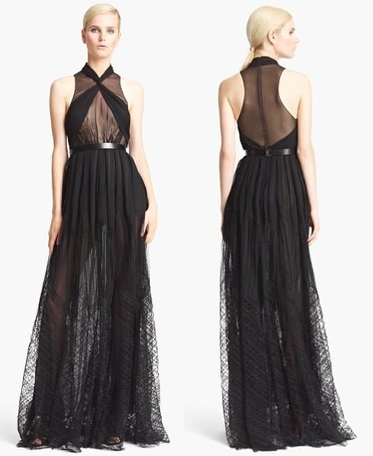 Jason Wu Draped Gown