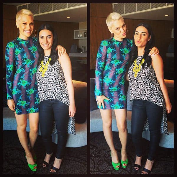 Jessie J Interview Three