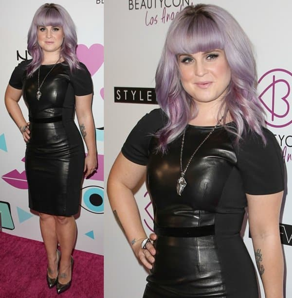 Kelly Osbourne at the 2013 BeautyCon Fashion and Beauty Summit held in Hollywood