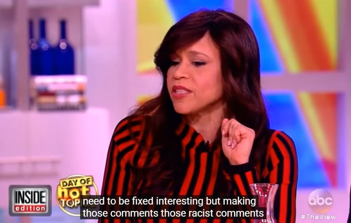 Rosie Perez accused Kelly Osbourne of making racist comments on The View