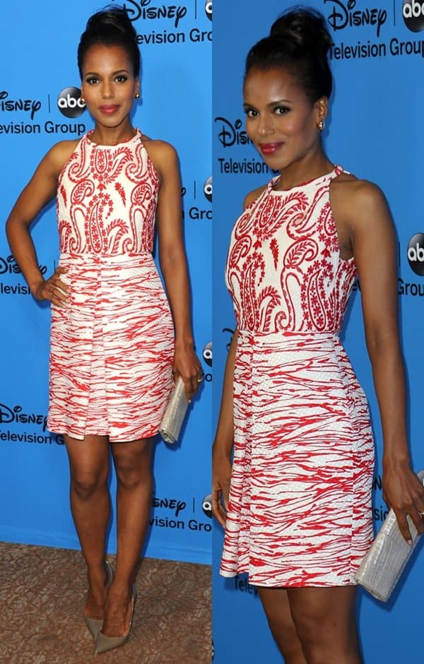 Kerry Washington at the Disney & ABC TCA summer press tour held at Beverly Hilton Hotel