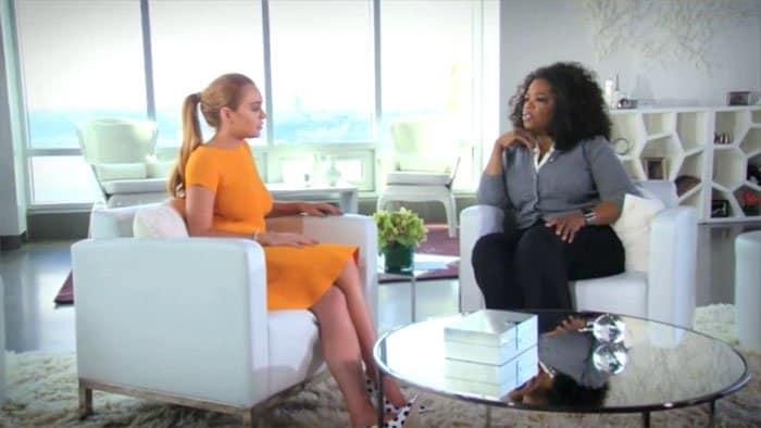 Lindsay Lohan Oprah interview