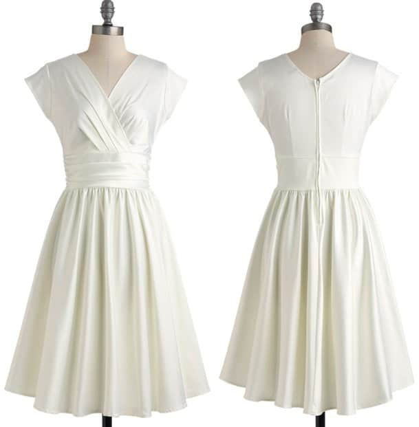 Love You Ivory Day Dress
