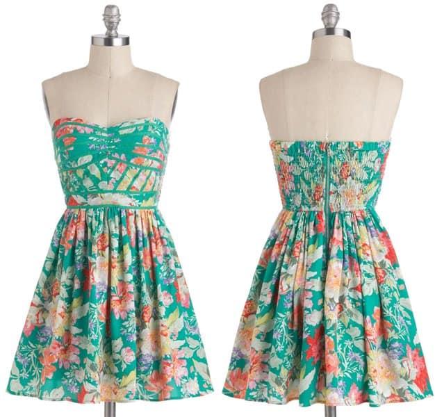 Lush with Beauty Dress
