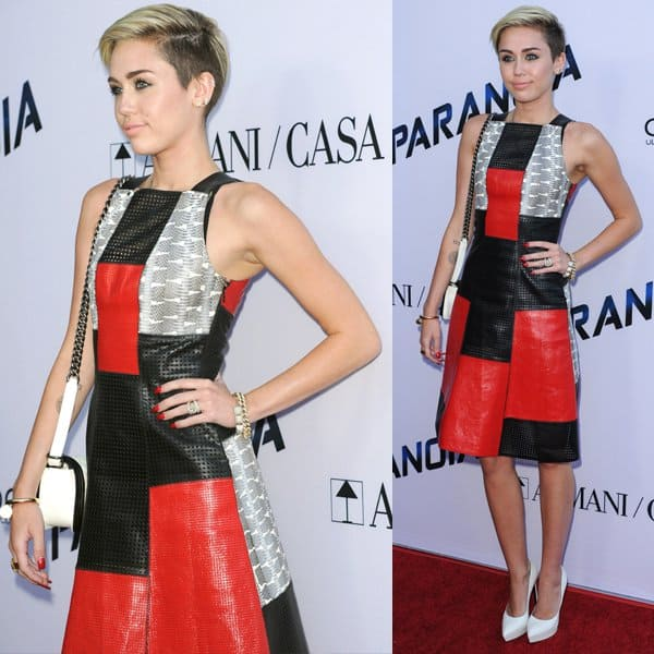 Miley Cyrus in Proenza Schouler 2