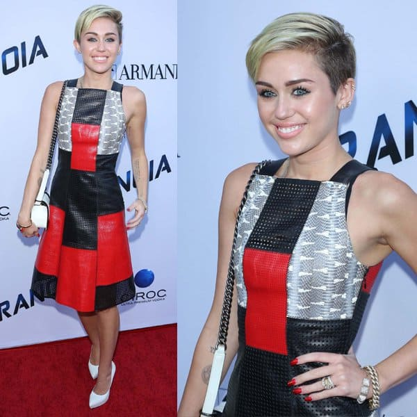 Miley Cyrus in Proenza Schouler