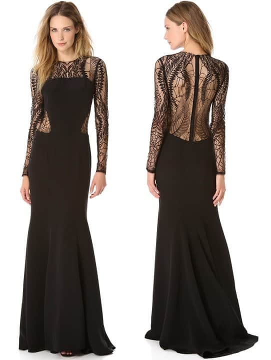 Monique Lhuillier Web Gown