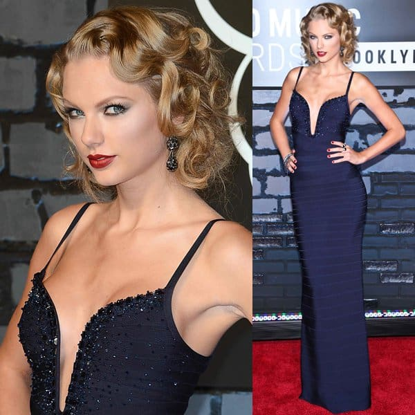 Taylor Swift's hairstyle was inspired by the ever-glamorous pin curls of the 1940s