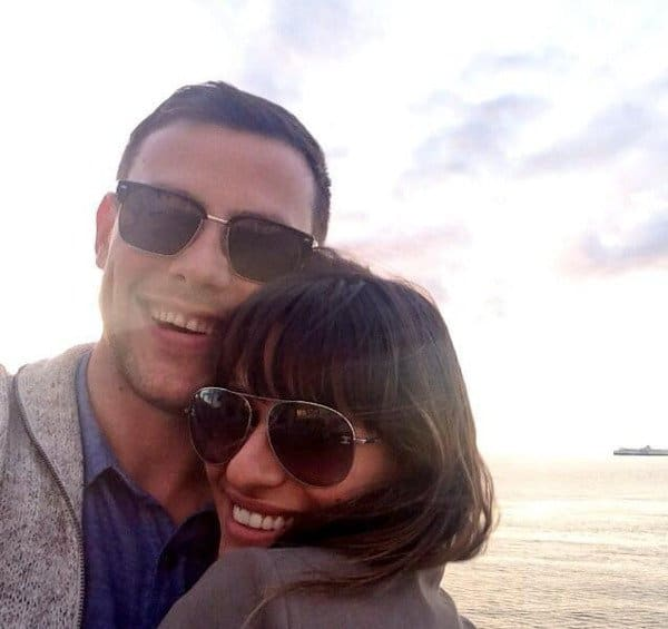 Lea Michele and Cory Monteith - Twitpic