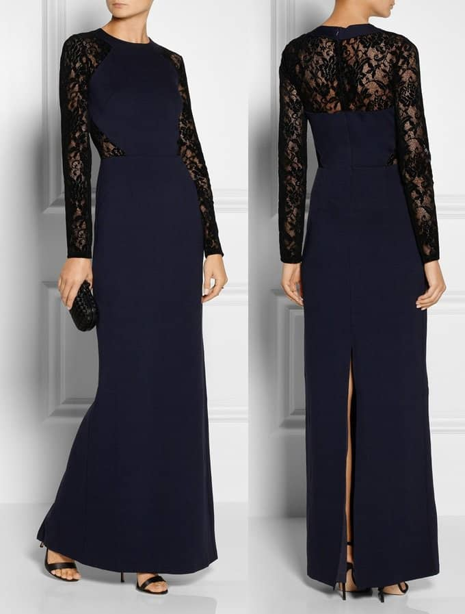 ALICE BY TEMPERLEY Solitaire Gown-horz