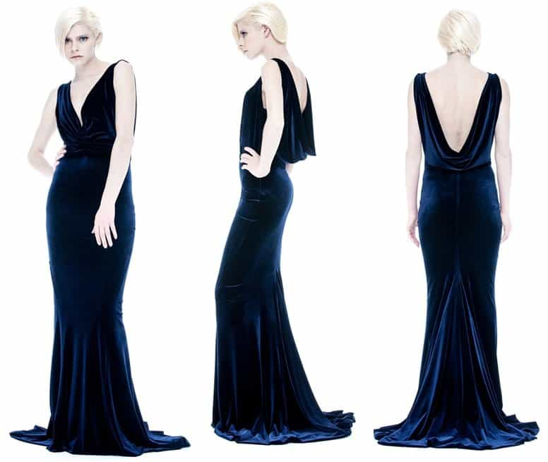 ANOMAL COUTURE Gala Dress-horz