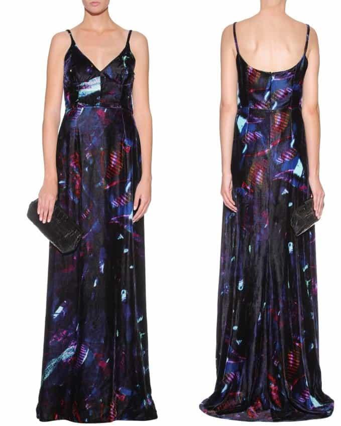 Aida Velvet Gown-horz