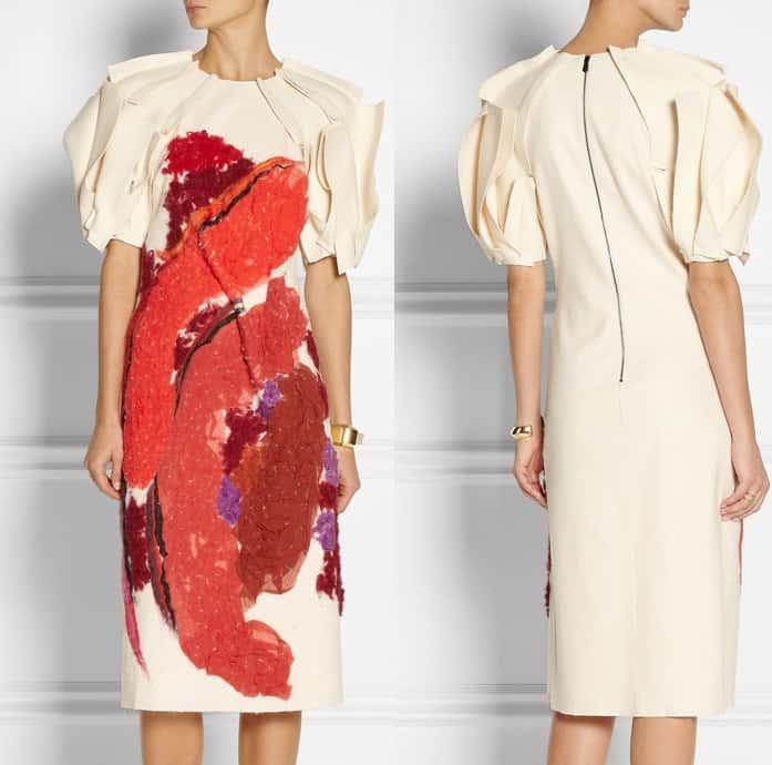 Bottega Veneta Applique Dress