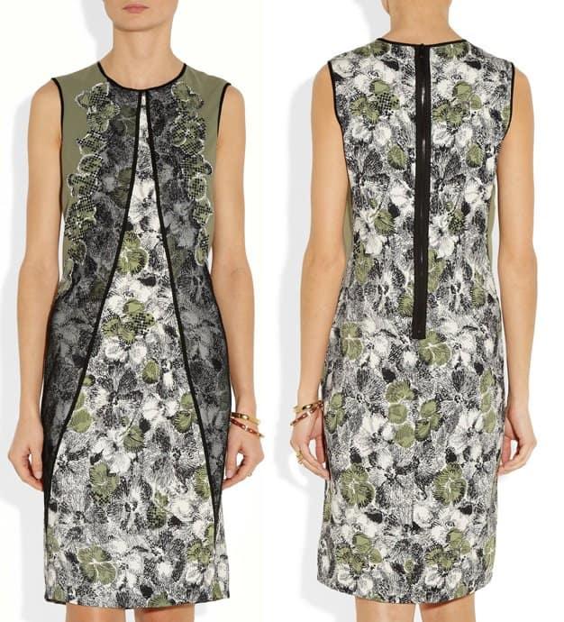 Bottega Veneta Embellished Silk Dress