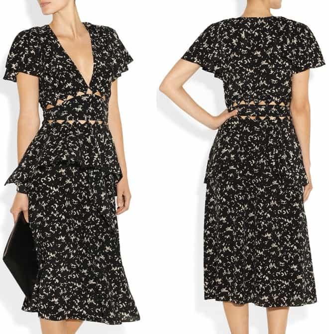Bottega Veneta Front Cutout Dress