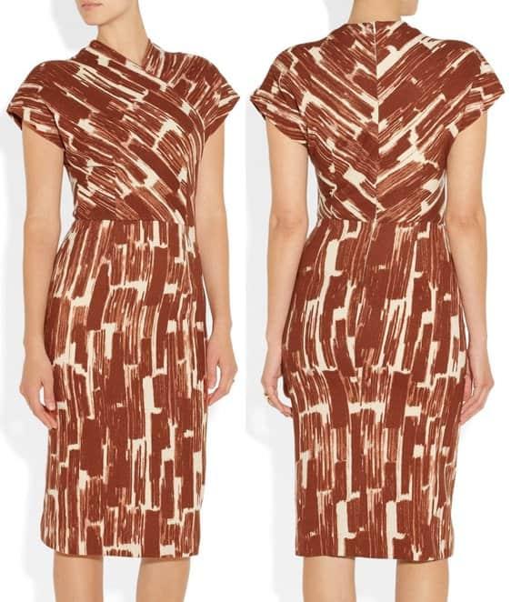 Bottega Veneta Wrap Effect Dress