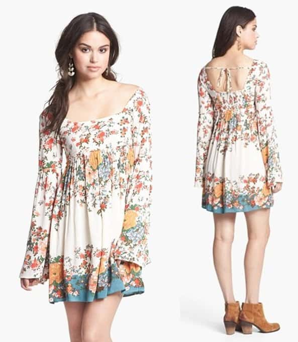 Free People Snap Out of It Dress