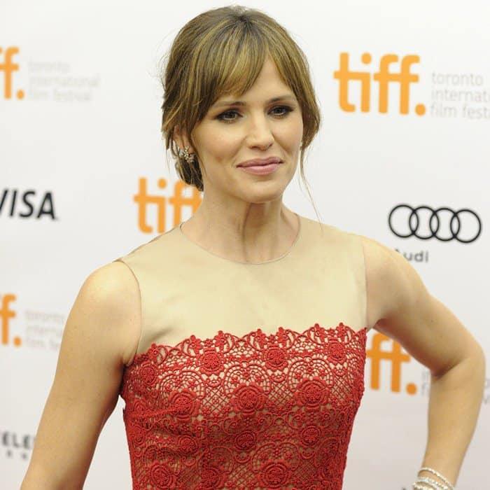 Jennifer Garner at the premiere of 'Dallas Buyers Club' at the Toronto International Film Festival 2013 on September 7, 2013