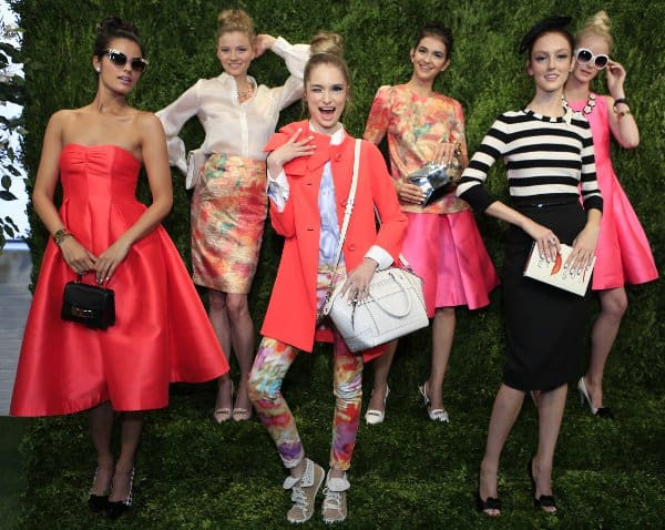 0f2b9a3db16 Kate Spade Spring Summer 2014 - Mercedes Benz New York Fashion Week