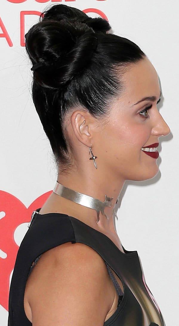 Katy Perry'sprint-tastic neoprene dress