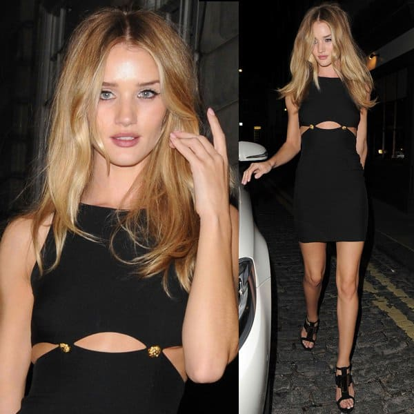 Rosie Huntington-Whiteley is best known for her work for lingerie retailer Victoria's Secret
