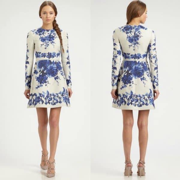 Valentino Floral Dress