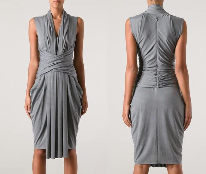 Alexander Wang Draped Sleeveless Dress