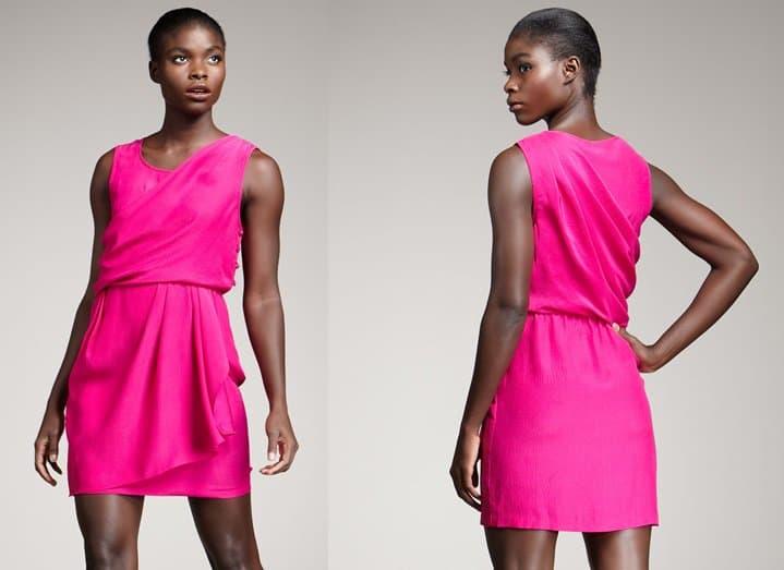 Ali Ro Sleeveless Grecian Dress