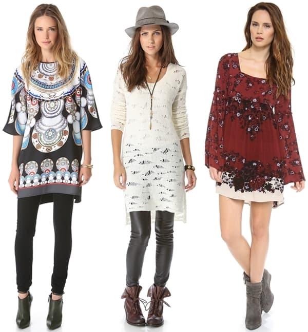 Bohemian Tunic Dresses