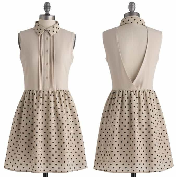 Cheerful Circle Dress-horz