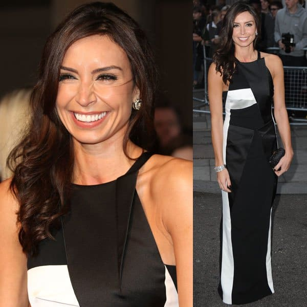 Christine Bleakley attends the Pride of Britain awards at Grosvenor House