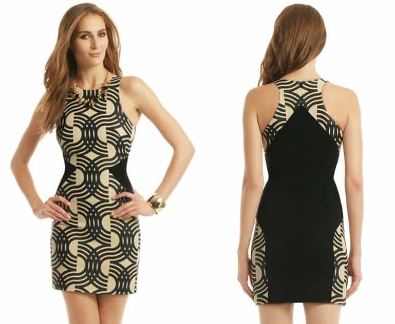 David Koma Swirl My Way Dress