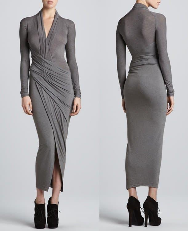 Donna Karan Draped Dress