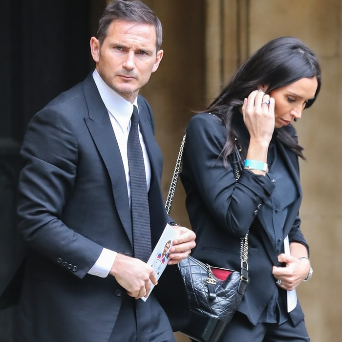 Frank Lampard met his future wife Christine Bleakley at the Pride of Britain awards in 2009